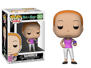 Pop! Animation Rick & Morty Vinyl Figure Summer #303