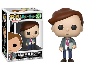 Pop! Animation Rick & Morty Vinyl Figure Lawyer Morty #304