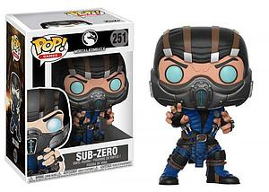 Pop! Games Mortal Kombat X Vinyl Figure Sub-Zero #251