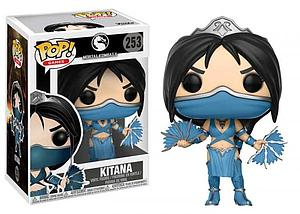 Pop! Games Mortal Kombat X Vinyl Figure Kitana #253