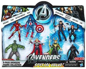 Marvel Avengers Action Figure 8-Pack Collection