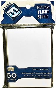 Card Sleeves Standard Board Game Size: White