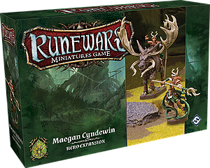 Runewars Miniatures Game: Maegan Cyndewin – Hero Expansion