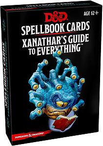 Dungeons & Dragons Spellbook Cards: Xanathar's Guide to Everything