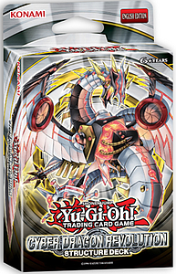 YuGiOh Trading Card Game Structure Deck: Cyber Dragon Revolution