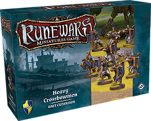 Runewars Miniatures Game: Heavy Crossbowmen - Unit Expansion