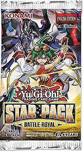 YuGiOh Trading Card Game: Star Pack Battle Royal Booster Pack