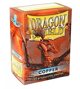 Dragon Shield Sleeves Standard Size: Copper
