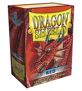 Dragon Shield Sleeves Standard Size: Red