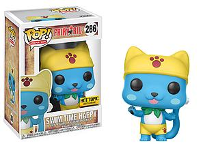 Pop! Animation Fairy Tail Vinyl Figure Swim Time Happy #286 Hot Topic Exclusive