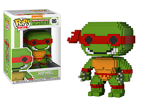 Pop! 8-Bit Teenage Mutant Ninja Turtles Vinyl Figure Raphael #06