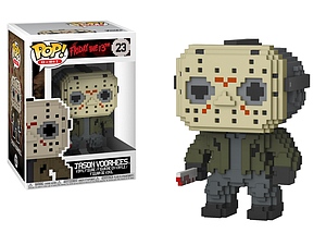Pop! 8-Bit Horror Friday the 13th Vinyl Figure Jason Voorhees #23