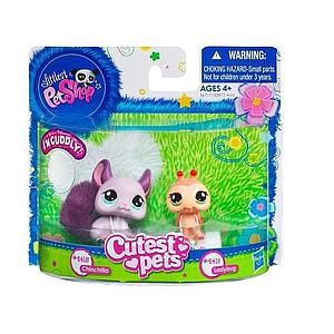Littlest Pet Shop Cutest Pets: Chinchilla & Ladybug