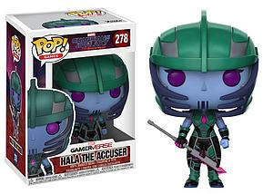 Pop! Games Guardians of the Galaxy: The Telltale Series Vinyl Figure Hala the Accuser #278 (Vaulted)