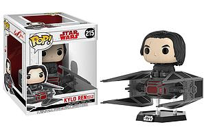 Pop! Rides Movies Star Wars: The Last Jedi Vinyl Figure Kylo Ren in Tie Fighter #215