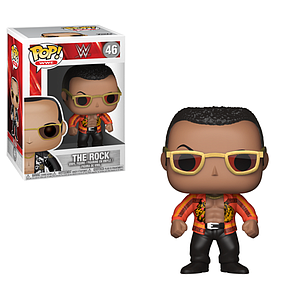 Pop! WWE Vinyl Figure The Rock (Old School) #46