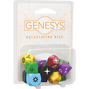 Genesys: Roleplaying Dice Pack