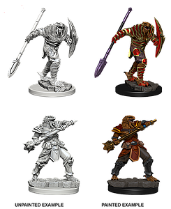 Dungeons & Dragons Nolzur's Marvelous Unpainted Miniatures: Dragonborn Male Fighter Varia