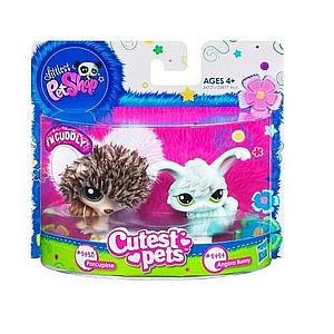 Littlest Pet Shop Cutest Pets: Porcupine & Angorra Bunny