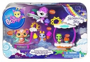 Littlest Pet Shop Fairy Shimmering Sky Set: Candy Cloud Cafe