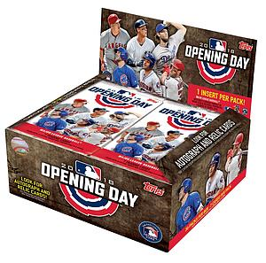 2018 MLB Opening Day Baseball Hobby Box