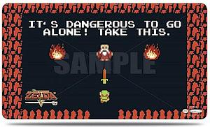 Legend of Zelda Dangerous Playmat