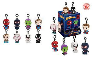 Mystery Minis Plushies Keychain Blind Box: Marvel Spider-Man (1 Pack)