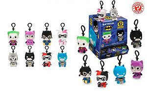 Mystery Minis Plushies Keychain Blind Box: DC Comics Batman (12 Packs)