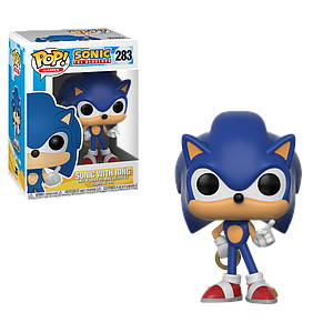 Pop! Games Sonic the Hedgehog Vinyl Figure Sonic with Ring #283