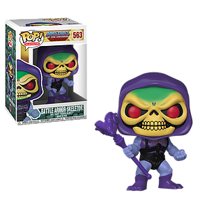 Pop! Television Masters of the Universe Vinyl Figure Skeletor with Battle Armor #563