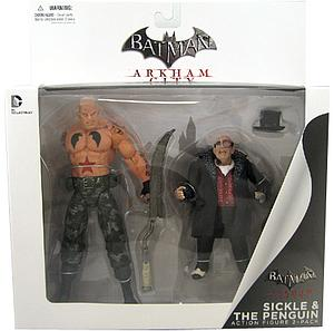 DC Collectibles Arkham City 2-Packs: Sickle & Penguin