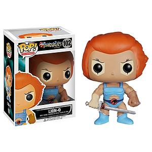 Pop! Television Thundercats Vinyl Figure Lion-O #102 (Vaulted)