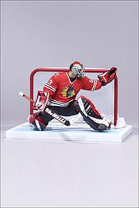 NHL Sportspicks Series 12 Nikolai Khabibulin (Chicago Blackhawks) Red Jersey