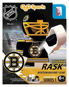 NHL Hockey Minifigures: Tuukka Rask (Boston Bruins)