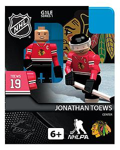 NHL Hockey Minifigures: Jonathan Toews (Chicago Blackhawks)