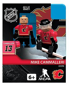 NHL Hockey Minifigures: Michael Cammalleri (Calgary Flames)