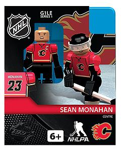 NHL Hockey Minifigures: Sean Monahan (Calgary Flames)
