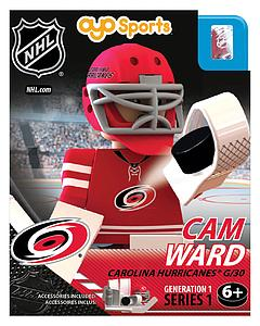 NHL Hockey Minifigures: Cam Ward (Carolina Hurricanes)