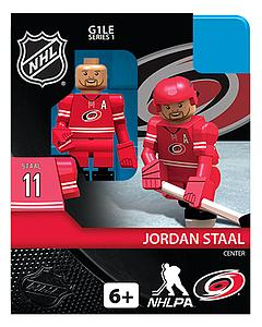 NHL Hockey Minifigures: Jordan Staal (Carolina Hurricanes)