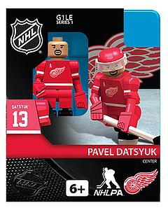 NHL Hockey Minifigures: Pavel Datsyuk (Detroit Red Wings)