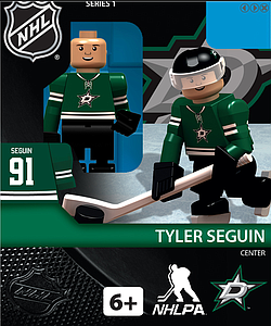 NHL Hockey Minifigures: Tyler Seguin (Dallas Stars)
