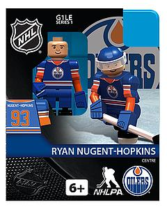 NHL Hockey Minifigures: Ryan Nugent-Hopkins (Edmonton Oilers)