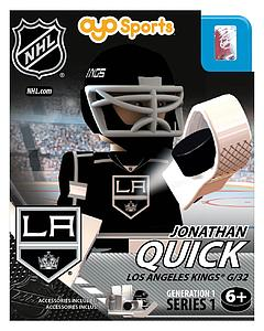 NHL Hockey Minifigures: Jonathan Quick (Los Angeles Kings)