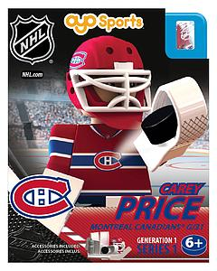 NHL Hockey Minifigures: Carey Price (Montreal Canadiens)