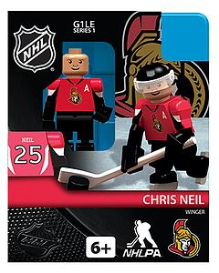 NHL Hockey Minifigures: Chris Neil (Ottawa Senators)
