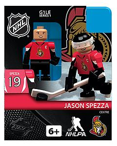 NHL Hockey Minifigures: Jason Spezza (Ottawa Senators)