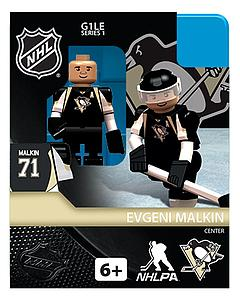 NHL Hockey Minifigures: Evgeni Malkin (Pittsburgh Penguins)