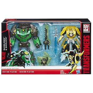Transformers Generations Platinum Edition 2-Pack Bumblebee & Grimlock