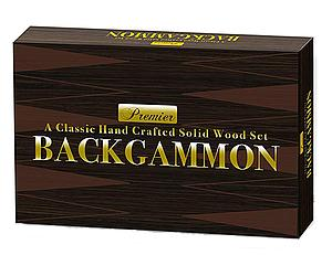 Premier Wooden Backgammon
