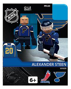 NHL Hockey Minifigures: Alexander Steen (St. Louis Blues)